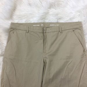 GAP Pants - Gap Perfect Khaki Pants Plus Size 20